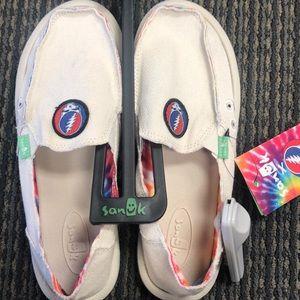 Grateful Dead Slip on shoe
